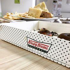 Not for the faint hearted #cheesmountain #krispykreme #australiasbiggestmorningtea #leftovers