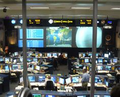 NASA Apollo Mission Control Houston Texas