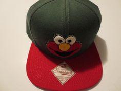 a460e3fa7b946 Sesame Street Elmo Red Hat Cap Snapback Costume Cosplay Comics Trucker Hat   SesameStreet  BaseballCap