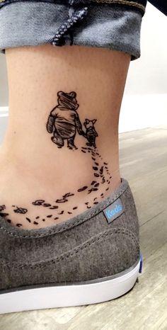 My Winnie the Pooh tattoo.