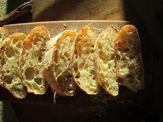 La linaza Ciabatta - para el Día Mundial de la hornada 2012 - Descubriendo masa fermentada