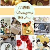 13 Amazing Thanksgiving Table Decor