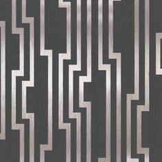 Velocity Wallpaper in Charcoal and Silver design by Candice Olson | BURKE DECOR