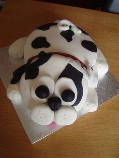 kids cakes #dog #kidscake
