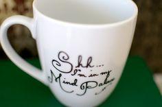 Sherlock Mind Palace Hand Painted Mug