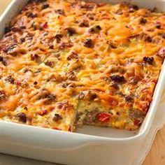 Impossibly Easy Breakfast Bake (Crowd Size) Allrecipes.com