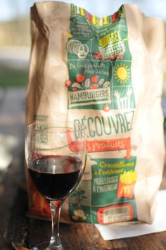 #2015 #corbieres #wine #redwine #macdonalds #macdo #fastfood #lunch #foodporn #outside #terrace #sunnyday