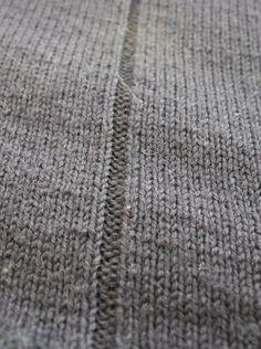 Gansey Pattern - Scarborough Gansey - Fisherman's Sweater by Wayside Flower
