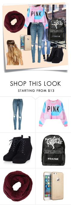 """""""Untitled #70"""" by habibakenawy on Polyvore featuring Post-It, Chicnova Fashion, BCBGMAXAZRIA, Johnny Loves Rosie, women's clothing, women's fashion, women, female, woman and misses"""