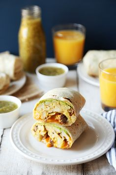 Steak and Avocado Breakfast Burritos - The Candid Appetite
