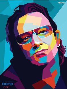 Bono U2 in wpap: