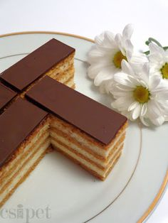 egycsipet: Fahéjas grízes krémes Hungarian Desserts, Hungarian Recipes, Yummy Treats, Sweet Treats, Yummy Food, Fun Desserts, Dessert Recipes, Salty Snacks, Sweet Cookies