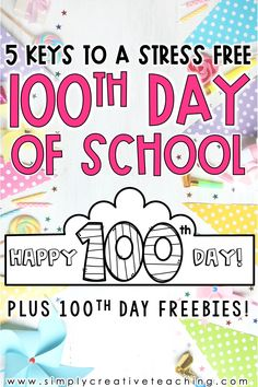 Celebrate the 100th day of school with these no prep printable and digital math, reading, and writing printables and worksheets! Use in Google Slides and Seesaw, or print for your students! Extras included: 100th day bookmarks and a fun crown (hat)! This resource was created for 1st grade and/or 2nd grade classrooms! Includes fun activities such as: writing 100 words, making words with one hundred, 100th day reading passage, when I'm 100 activity, hundreds chart, and much MORE!