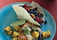 AMAZING: Spicy Black Beans with Chorizo and Chipotle Cream: Recipe: bonappetit.com