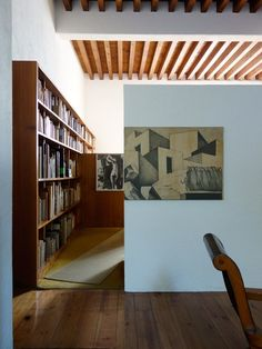 The house of architect Luis Barragan created over 40 years into a personal statement of architecture, designed not to be comfortable to the body so Merci Store, Timber Stair, Interior Decorating, Interior Design, Space Architecture, Deco Design, Decoration, Home And Living, Interior And Exterior