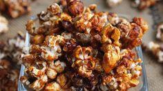 Popcorn con Salsa de Caramelo - QueRicaVida.com