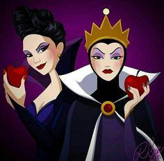 Rainha Má Disney e Rainha Má OUAT