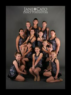 Jane Cato Jazz Dance Group Pose