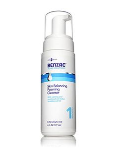 Benzac Skin Balancing Foaming Cleanser 6 Ounce >>> You can get more details by clicking on the image.