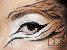 Tiger – Idea Gallery - Makeup Geek I wanna do thisI can probably get away with this at work. . .