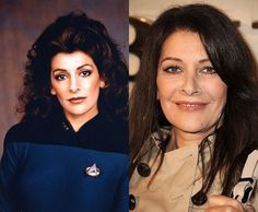 Then and Now #startrek #startrekthenextgeneration #tng #ussenterprised #1701D #troi