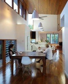 Timber Cladded Ceiling