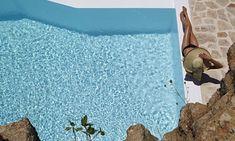 By the pool, Luxury Villa Carlotta , Mykonos Super Paradise Beach, Mykonos Island Greece, Mykonos Villas, Villa Pool, Mykonos Town, Resort Villa, Beautiful Villas, Fantasy Wedding, Luxury Holidays