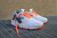 "Nike Air Huarache GS ""Bright Mango & Grey"" - EU Kicks: Sneaker Magazine"