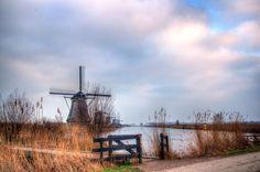 Kinderdijk V by Watze D. de Haan