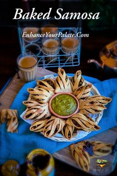 Air-fried or baked samosa recipe with enhanced crust and nutritious filling to make the whole snack experience delightful and healthy. Vegetarian Appetizers, Vegetarian Recipes Easy, Indian Food Recipes, Gourmet Recipes, Appetizer Recipes, Healthy Recipes, Indian Appetizers, Indian Snacks, Healthy Baking