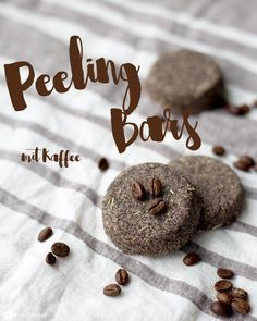 Peeling Bars mit Kaffee selbermachen - Beauty DIY für natürliche Kosmetik - kleine Geschenke selbermachen