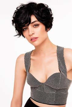The best collection of Great Curly Pixie Hair, Pixie cuts, Latest and short curly pixie haircuts, Curly pixie cuts pixie hair Curly Pixie Haircuts, Short Curly Pixie, Curly Hair Cuts, Short Hair Cuts, Curly Hair Styles, Pixie Wavy Hair, Short Curls, Pixie Styles, Pixie Bob