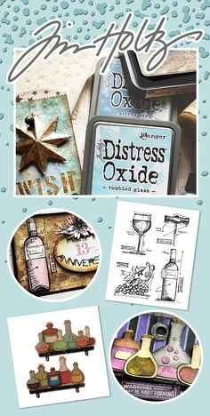 🗝️ Unlock your creativity with vintage-inspired stamps, embellishments, ink, and more from Tim Holtz! 💼 ALL Tim Holtz is on sale HERE! Distress Ink Techniques, Old Book Crafts, Tim Holtz Stamps, Creative Gift Wrapping, Distress Oxides, Candy Cards, Scrapbook Paper Crafts, Chrochet, Homemade Cards