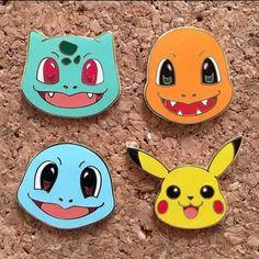 X093 Phim Hoạt Hình Dầu Drop Dễ Thương Pocket Monster Pikachu Kim Loại Brooch Pins Nút Pins Girl Jeans Bag Món Quà Trang Trí Bán Buôn