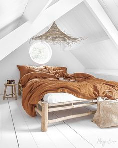 Linen bedding set in Cinnamon. 3 piece washed linen set includes two pillowcases. Washed Linen Duvet Cover, Bed Linen Sets, Duvet Sets, Duvet Cover Sets, Linen Sheets, Linen Bedding, Linen Fabric, Bed Sheets, Bed Linens