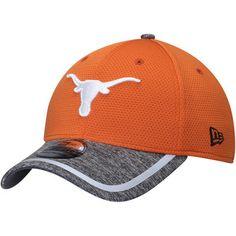 on sale 16e23 e26f8 Men s New Era Orange Gray Texas Longhorns Training 39THIRTY Flex Hat