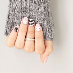 The inspiration for my mani this week! These kitty themed nail wraps are the cat's meow! Easy to apply, no dry time, and super durable! Easy Nail Art, Cool Nail Art, Nail Photos, Jamberry Nail Wraps, Great Nails, Mani Pedi, Nail Inspo, Diy Nails, Nail Care