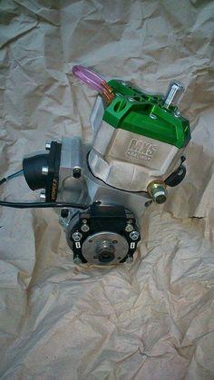 Cylindre MXS GP 90cc sur Carters CNC de Cyclo