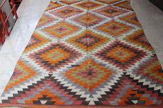 Türkischer Kelim-Teppich, dekorative Teppich, Vintage Kelim, Tribal Kelim, böhmische Kelim-Teppich, alte anatolische Kelim, Wohnzimmer Kelim, 118 x 72 Zoll, 300 x 183 cm