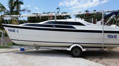 MAGGIE-2 Custom Boat-Yacht Name plus QLD YACHT REGO KIT by REEL SIGNS submotted by Norman Laundry - social
