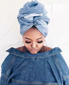 To make a Difference you must be Different ✨ from South Africa Mode Turban, Style Africain, African Head Wraps, Head Wrap Scarf, Turban Style, Bad Hair Day, Scarf Hairstyles, Headgear, Wrap Style