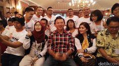 Ahok Tegaskan Tak Akan Mundur dari Pilgub DKI 2017