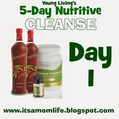 One mom blogs her 5 day experience with Young Living's Nutritive Cleanse #oilyfamilies #youngliving