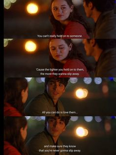 Romantic Movie Quotes, Best Movie Quotes, Babe Quotes, Film Quotes, Qoutes, Holding On Quotes, Best Movie Lines, Sad Movies, Kissing Booth