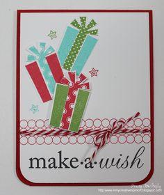 Card inspiration #PTI Make a Wish   In My Creative Opinion: Retro Sketches #9