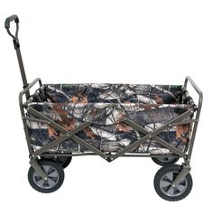 Mac Sports Collapsible Folding Beach Outdoor Camping aUtility Wagon. Camo New #MacSports