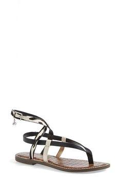 c947e8db952fb Sam Edelman  Garrick  Ankle Wrap Sandal (Women) available at  Nordstrom  Ankle