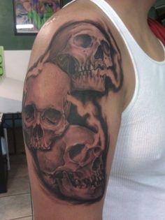 This is custom piece I did last night, 2 images to show full tattoo    http://www.facebook.com/irvinglupo    http://irvinglupotattoos.tumblr.com/