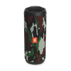 JBL Flip 4 Is a Waterproof Portable Bluetooth Speaker-camo for sale online Som Bluetooth, Iphone Bluetooth, Waterproof Bluetooth Speaker, Wireless Speakers, Smartphone, Camouflage, Jbl Flip 4, Small Speakers, Audio Player