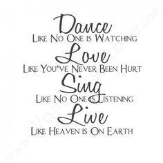 Ik hou va muziek dus dit is er perfecte quote voor mij wat vinden jullie er van